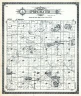 Springwater Township, Waushara County 1924